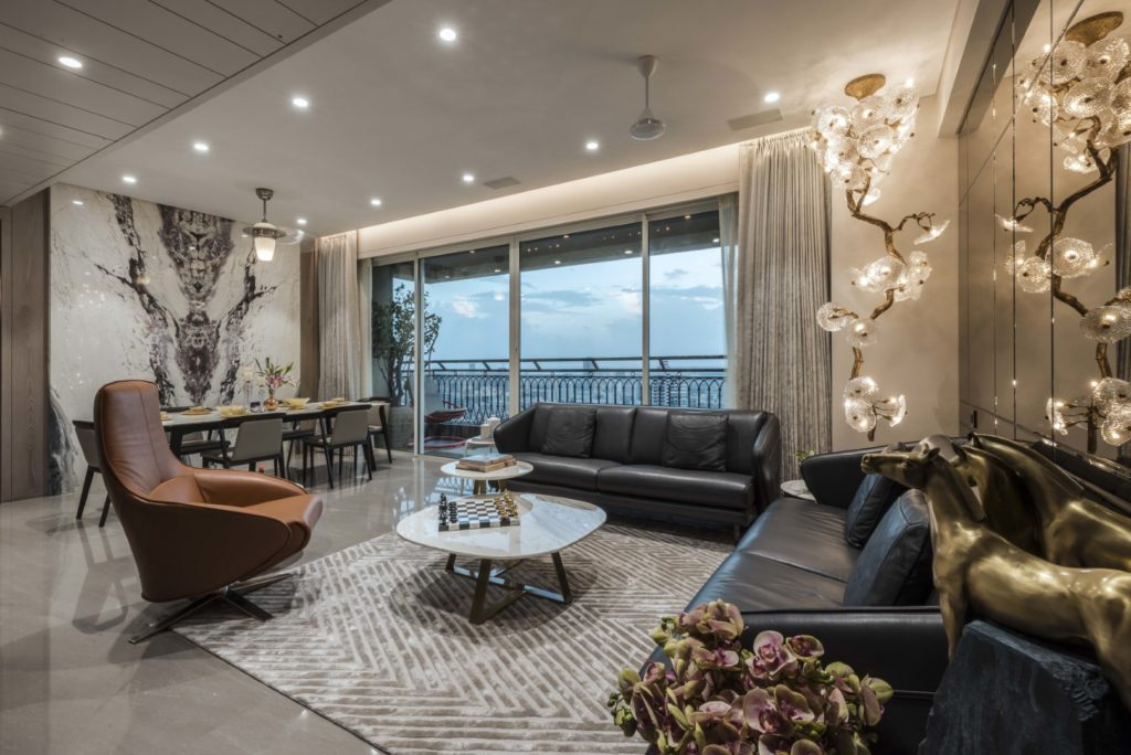 MODERN RESIDENCE Living room